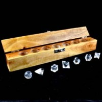 Crystals Australia Wholesale Natural Crystal Clear Quartz Geometry Set