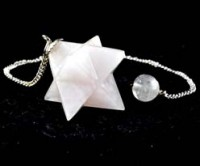 Crystals and Stones Wholesale Australia Healing Shapes Crystal Pendulum Rose Quartz