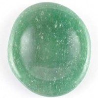 Stones Wholesale Flatstone Freeform Worry Stone Aventurine Green