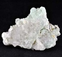 stones wholesale Natural Crystal  Prehnite with Quartz