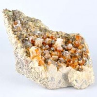 wholesale tumbled stones Natural Crystal Garnet Spessartine