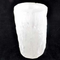 Buy Wholesale Crystals Natural Crystal Tea Light Holder Selenite White Large