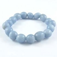 Natural Crystals Wholesale Australia Jewellery Tumbled Bracelet Angelite004