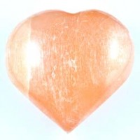 Natural Wholesale Crystals Australia Sydney Crystal Carving Selenite Red Heart 001