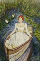 Greeting Card Lady of the Lake