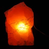 Wholesale Crystals Australia Natural Crystal Selenite Red Lamp