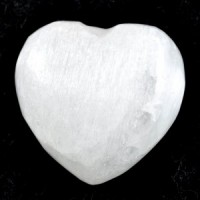 Crystal Carvings Wholesale Australia Crystal Heart selenite white