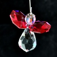 Wholesale Crystals Australia Crystal Angel Swarovski Suncatcher