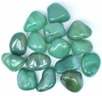 Coloured Green Agate Large Tumbled Crystals buy wholesale crystals