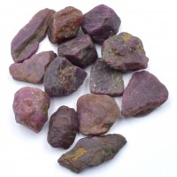 12-14 Pack of Ruby Red Natural Specimens