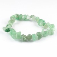 Crystals Australia Wholesale Jewellery chip bracelet green aventurine