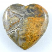 Crystal Carvings Wholesale Australia Crystal Heart Agate Crazy Lace Yellow