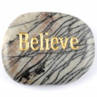 Crystals Wholesale Sydney Polished Crystal Word Stone Believe  090 (7)