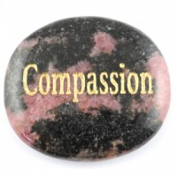 Crystals Wholesale Sydney Polished Crystal Word Stone Compassion 006 (1)