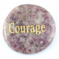 Crystals Wholesale Sydney Polished Crystal Word Stone Courage  046 (7)