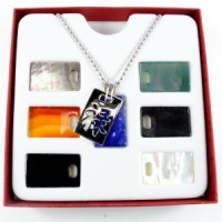 Wholesale Crystals Australia Crystal Pendant silver interchangeable with crystals