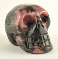 Crystal Wholesalers Crystal Skull Rhodonite