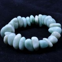 Stones Wholesale Crystal Jewellery Tumbled Bracelet Amazonite China