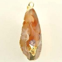 Buy Wholesale Crystals Jewellery Pendant Agate Cave With Amethyst