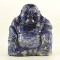 Wholesale Crystals Gold Coast Crystal Carving Buddha Sodalite