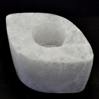 Wholesale Rocks and Crystals Selenite Tealight Candle Holders (14)