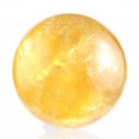 Australia Natural Crystals Wholesale Crystal Sphere calcite honey
