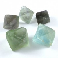 Wholesale Crystal Natural Crystal Fluorite Green Octahedron