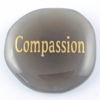 Crystals Wholesale Sydney Polished Crystal Word Stone Compassion  039 (2)