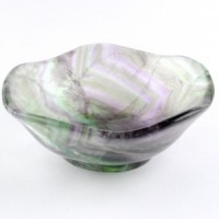 Polished Crystals Australia Online Crystal Healing Bowl rainbow fluorite