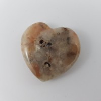Medium Agate Crazy Lace Red Heart