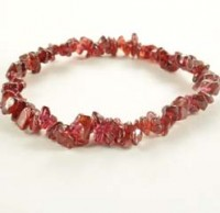Crystals Wholesale Australia Crystal Chip Bracelet Garnet