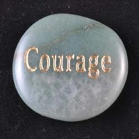Wholesale Crystals Crystal Word Stone Courage Aventurine green