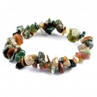 Australia Wholesale Crystals chip bracelet bloodstone