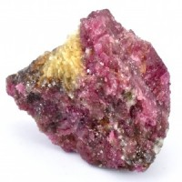 Wholesale Rocks and Crystals Natural Rubelite on Mica