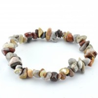 wholesale stones agate crazy lace red bracelet  (1)