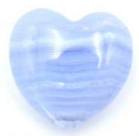 Blue Agate Heart natural crystals wholesale