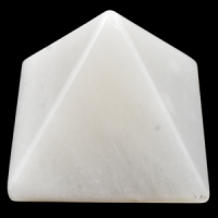 White Jade Pyramids crystals and stones wholesale