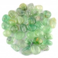 Wholesale Crystals Polished Healing Shapes tumbled fluorite green
