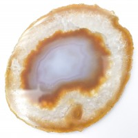 Agate Natural '6' Agate Slices crystal wholesalers