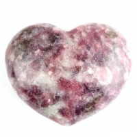 Australia Wholesale Crystal Carvings Crystal Heart lepidolite