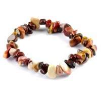 Australia Wholesale Crystalls jewellery chip bracelet mookaite