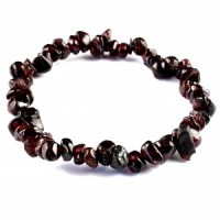 Australia Wholesale Crystals jewellery chip bracelet red garnet
