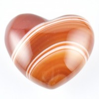 Wholesale Crystals Australia Polished Carnelian Hearts