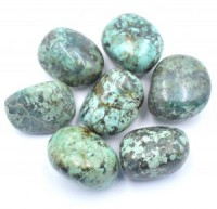 African Turquoise  Tumbled Crystals wholesale crystals sydney