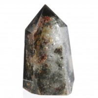 Crystals Natural Polished Generator Lodolite Chlorite
