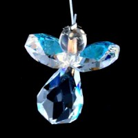 Wholesale Crystals Australia Crystal Swarovski Angel Suncatcher