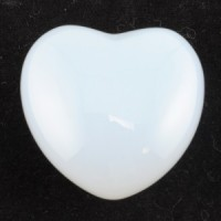 Australia Crystals Wholesale Natural Crystal Carvings Heart Opalite