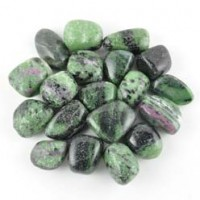 Buy Wholesale Crystals Crystal Polished Tumbled Ruby in Zoisite