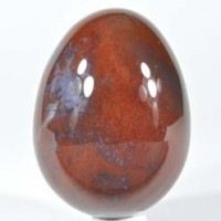 Wholesale Rocks and Stones Crystal Egg Bloodstone