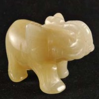 Crystals Wholesalers Crystal Carving Elephant Aventurine Yellow